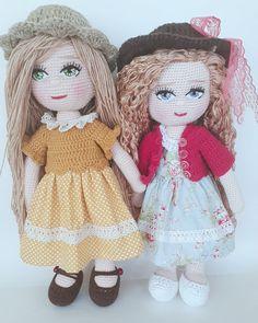 Bu gün de #tbt❤️ yapalım 😄 Yeni bebek bitmedi .. Kızım hasta olunca her şey kaldı Ateşi 40° yi gördük 😯 Evladım hastalanacığına ben hasta… Knitted Dolls, Crochet Dolls, Knit Crochet, Doll Toys, Harajuku, Barbie, Knitting, Amigurumi Doll, Beret