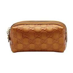 Gucci Caso Cosmetico Caso Cosmetico Arancione 153228AHB1G7604 GI537