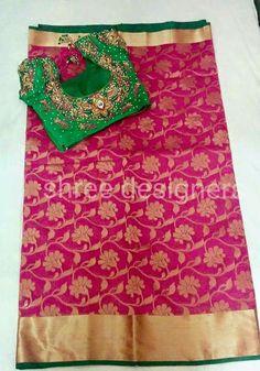 Mirror Work Saree Blouse, Work Blouse, Bridal Sarees South Indian, Indian Sarees, Organza Saree, Cotton Saree, Bandhini Saree, Phulkari Saree, Velvet Saree