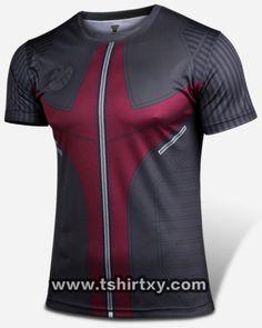 Superhero Hawkeye black t shirt for men Avengers Age of Ultron tee-