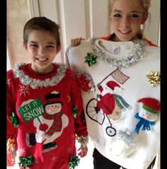 How to Make an Ugly Christmas Sweater even Uglier
