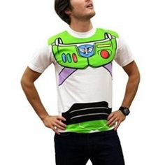 Toy Story Shirts - Toy Story Buzz Lightyear Costume T-Shirt by Animation Shops