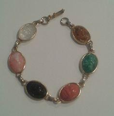 Vintage Coro Bracelet Egyptian Revival 30' or 40's.