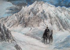 Carn DumCarn Dûm, ancient seat of the Witch-king - captain of the Ringwraiths - in the land of Angmar by neral85.deviantart.com on @deviantART Lord of the Rings