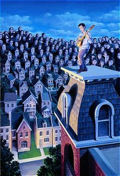 ^by Rob Gonsalves - The Performer