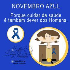 Ilustrações Catita Design: Novembro Azul