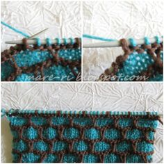 Pictorial tutorial honeycomb pattern
