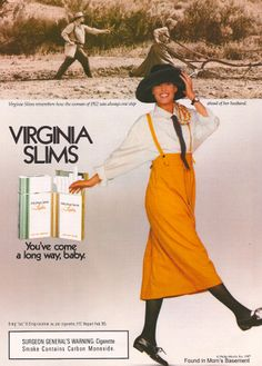 Image detail for -Vintage ads for Virginia Slims cigarettes, 1980s and 1990s - Found in ...