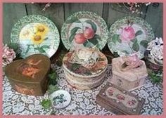 How To Decoupage & Transfer Designs