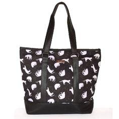 Bolsa Shopping Cats preta - Cat Club