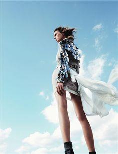 Sky Line.Fashion Photography