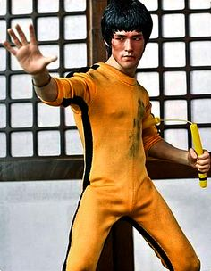 """Game of Death"" Bruce Lee Action Figure 