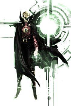 Alan Scott by naratani on DeviantArt Dc Comics Superheroes, Dc Comics Characters, Dc Comics Art, Green Lantern Sinestro, Green Lantern Comics, Batman, Comic Books Art, Comic Art, Book Art