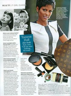 Tamron Hall talks to Essence magazine about her beauty routine - Msnbc Info