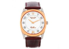 Rolex Cellini Danaos18k White and Rose Gold Watch 4233