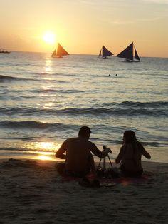 Boracay is fifth most romantic island in the world — travel mag Boracay Hotels, Boracay Philippines, Boracay Island, Beach Images, Travel Magazines, Sunset Photos, Most Romantic, Travel And Leisure, Beautiful Beaches