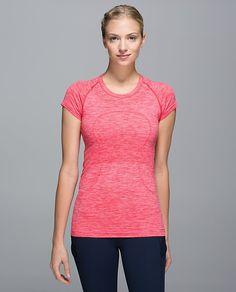 2e146b4dcc Lululemon Addict: UK Spoilers - Atomic Red! Running Shirts, Running Gear,  Yoga