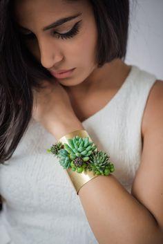 Manschette Armband Erklärung-Armband von PassionflowerMade