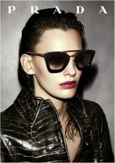 d689ac1497b800 Prada sunglasses  Fall Winter 2013 2014 Cinéma collection Eye Glasses, Ray  Ban