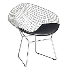 The innovative Diamond Chair, designed by Harry Bertoia in is a testament to the designer's unique design vision and talent. The impressive diamond-shaped Harry Bertoia, Coaster Furniture, Cool Furniture, Contemporary Furniture, Furniture Chairs, Black Furniture, Quality Furniture, Office Furniture, Outdoor Furniture