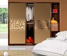 Tea mirror wardrobe doors jade sand / sliding doors / sliding door / partition doors -made / factory direct production-$46.50