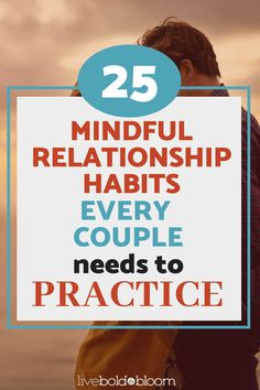 When you adopt mindfulness in your marriage or relationship, you CAN recreate the joy and intimacy you once had, while building on the security, commitment, and comfort of your established relationship.Here are 25 Mindful Relationship Habits Every Couple Needs To Practice. #relationships #relationshipgoals #habits #mindfulness #marriage #menandwomen Healthy Relationship Tips, Marriage Relationship, Good Marriage, Relationship Problems, Toxic Relationships, Happy Marriage, Marriage Advice, Healthy Relationships, Life Advice