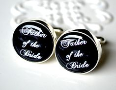 The Father of the bride Cufflinks