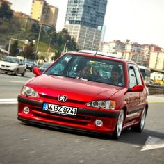 106 GTI Peugeot 106, 3008 Peugeot, Citroen Sport, First Car, Modern Classic, Custom Cars, Corvette, Cars And Motorcycles, Cool Cars