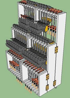 Clamp Rack plans from stumpy nubs store