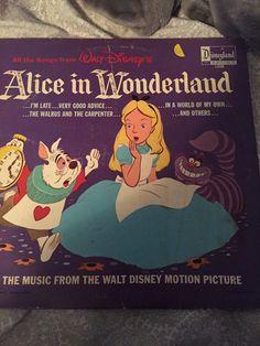 Alice in wonderland record