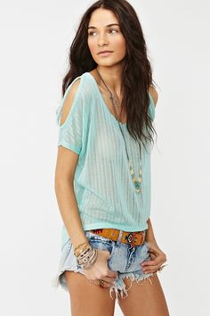 My style: Open Shoulder Knit #nastygal #fashion