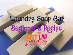 FINALLY I MADE MY FIRST LAUNDRY SOAP BAR !!!! YEAAAAAH!!! I 'm so happy that I could make it! It's very cheap and easy to make! I'm using recycled cooking oil so THIS RECIPE IS EC…