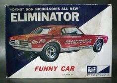 "MPC - ""Eliminator"" funny car model kit"