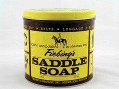 Saddle Soap Paste, Yellow, 5Lb by Fiebing Company Inc. $24.23. Size: 5 Pounds. Used all over the world on fine saddlery, boots, shoes and other smooth leather articles. Cleans leather and lubricates the fibers to prevent brittleness, all the while maintaing suppleness and strength. Fiebing s signature product. Saddle soap paste work. Save 27% Off!