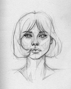 Ani Cinski is a German pencil sketch artist, Illustrator and Graphic Designer. For More Details View Website illustration Pencil Sketch Artist Ani Cinski Cool Art Drawings, Pencil Art Drawings, Drawing Faces, Art Drawings Sketches, Pencil Sketch Art, Beautiful Drawings, Drawing Ideas, Art Faces, Beautiful Pencil Sketches