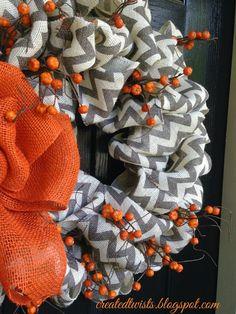 ~~~~~~~~~Created Twists: Fall Wreaths