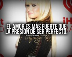 Love Is Louder...Than The Pressure To Be Perfect...'♡