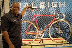 NAHBS 2017: Raleigh teams up with Don Walker for Nelson Vails Cheetah Replica Track bike, Modern Cheetah Race, more
