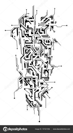 Tatoo, Counter-Strike: Global Offensive, Counter-Strike: Global Offensive Tatoo Source by Geometric Sleeve Tattoo, Geometric Tattoo Design, Geometric Art, Geometric Tattoo Drawings, Neue Tattoos, Body Art Tattoos, Sleeve Tattoos, Tatoos, Circuit Tattoo