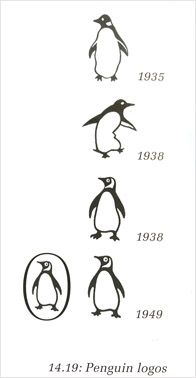Penguin's Logo evolution