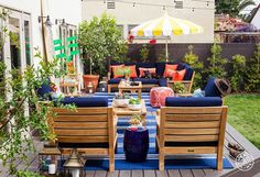 Gray Malin's Outdoor Oasis by Homepolish