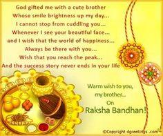 Raksha Bandhan - Rakhi or Raksha Bandhan is a holy festival of India. Raksha Bandhan is a festival of faith and love between brother and sister. Raksha Bandhan Cards, Raksha Bandhan Quotes, Raksha Bandhan Wishes, Raksha Bandhan Images, Rakhi Wishes For Brother, Gifts For Brother, Rakhi Cards, Happy Rakshabandhan, Happy Friendship Day