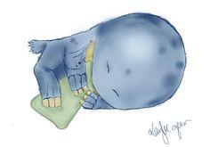 Sleepy Quaggan! by KayleeGean.deviantart.com on @deviantART