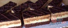Recept Oblíbené karamelově vanilkové řezy 3Bit Cake Cookies, Waffles, Food Porn, Food And Drink, Sweets, Candy, Chocolate, Breakfast, Ethnic Recipes