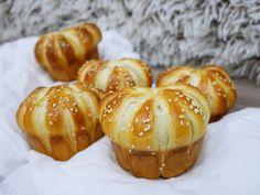 Sajtos muffin Muffin, Pretzel Bites, Baked Potato, Bread, Baking, Vegetables, Breakfast, Ethnic Recipes, Food