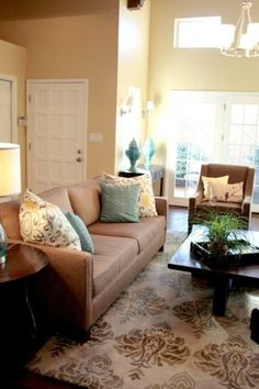 Living room makeover - lots of bright white trim
