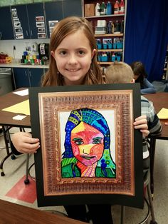 portrait art Fourth graders made these neat Heather Galler self-portraits . We learned about Etsy , a website were artists can sell their artwork . Self Portrait Art, 6th Grade Art, Fourth Grade, Creation Art, Ecole Art, School Art Projects, Class Projects, Middle School Art, Art Lessons Elementary