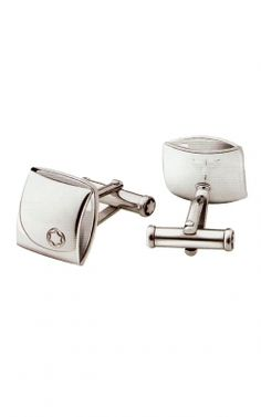 #Mont Blanc Cufflinks Silver Collection 35828