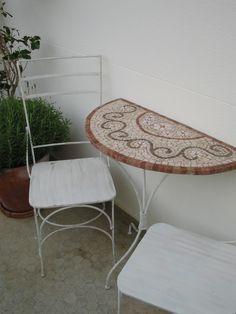 Mosaico - Tampo De Aparador Mesa Fiorellini 40X80