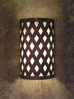 Wall sconce for the living room maybe?